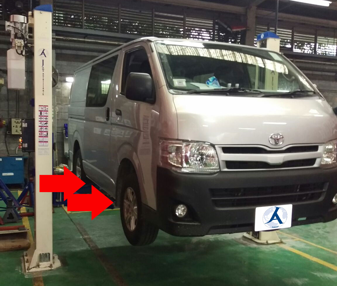 Autolift i aktion