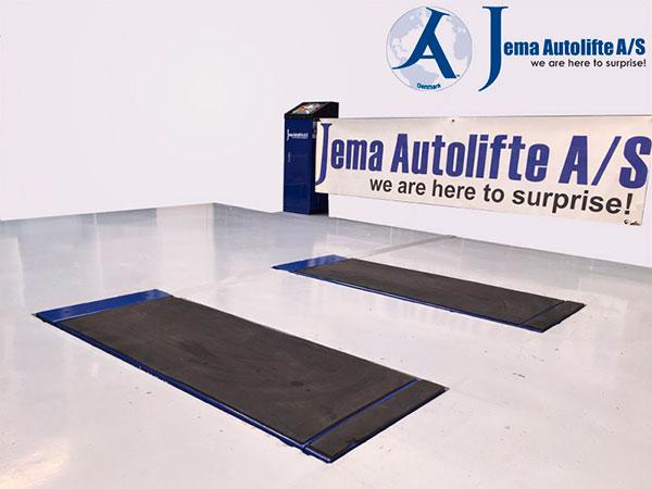 JA60001S er en nedsænket autolift